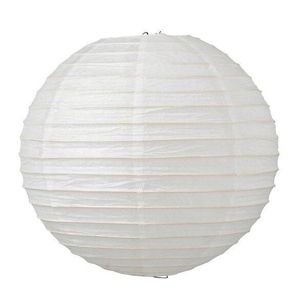 . Boule japonaise en papier blanc Ø40cm
