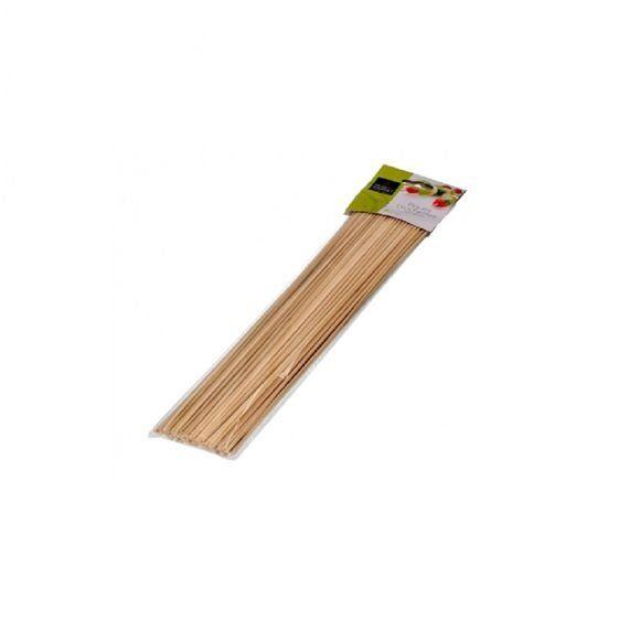 Pas de marque 100 piques brochette bambou
