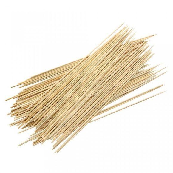 Pas de marque Set 100 pics brochette en bambou 30cm