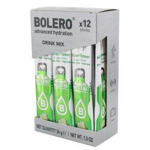 Bolero Pack 12 Sachets Bolero Drink goût Fleur de sureau 36 g