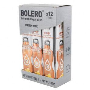 Bolero Pack 12 Sachets Bolero Drink goût Gingembre 36 g