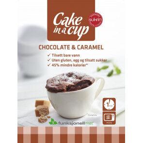 Sukrin Bizcocho en Taza Chocolate & Caramelo Sukrin 75 g