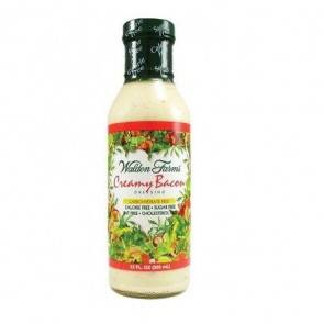 Walden Farms Salsa Cremosa de Bacon Ahumado Walden Farms 355 ml