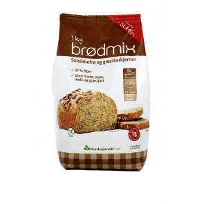 Sukrin Preparado para Elaborar Pan con Semillas Sukrin 1 kg (Brodmix)
