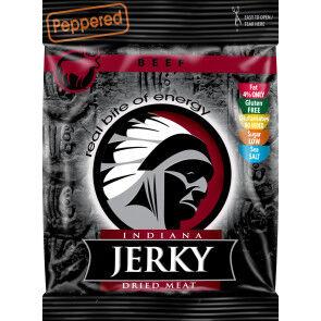 Indiana Jerky Peppered Beef Jerky Viande Séchée Indiana Jerky 25 g