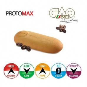 CiaoCarb Pack de 10 Biscuits CiaoCarb Protomax Phase 1 Café