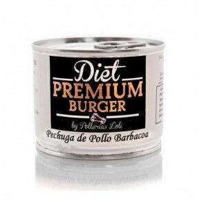 Diet Premium Burger, S.L.U. Pechuga de Pollo Barbacoa en Conserva 100 g Diet Premium