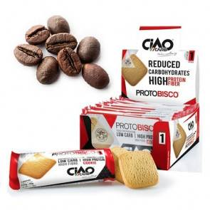 CiaoCarb Pack de 10 Biscuits CiaoCarb Protobisco Phase 1 Café