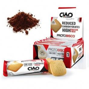 CiaoCarb Pack de 10 Biscuits CiaoCarb Protobisco Phase 1 Cacao