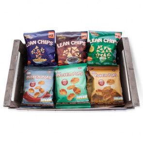 Protein Snax Pack Variado de Snacks de Proteina 36 Paquetes