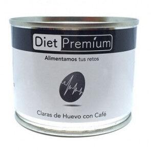Diet Premium Burger, S.L.U. Claras de Huevo con Café en Lata Diet Premium 125 g