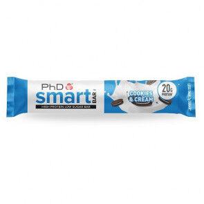 PhD Nutrition Ltd. Smart Bar Cookies & Cream PhD 64g