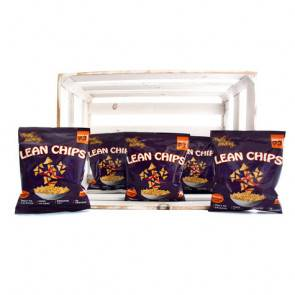 Purely Snacking Pack de 36 Lean Chips (Nachos Protéinés) Thai Sweet Chilli Purely Snacking