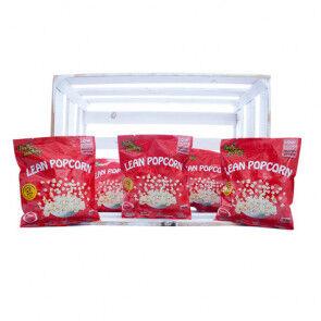 Purely Snacking Pack de 36 Lean Popcorn Protéiné Tomates Séchées et Pesto Purely Snacking