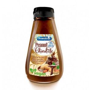 Quamtrax Nutrition Crème Cacahuète et Chocolat 0% Sucre Quamtrax 400 g