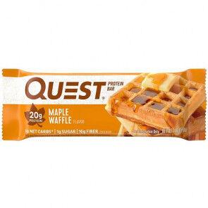 Garmin Quest Bar Protein Sabor Gofre con Sirope de Arce  60 g