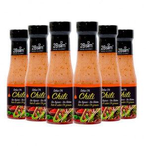 2bSlim Pack de 6 Sauces Chili 0% 2bSlim 250 ml