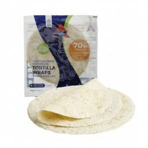 Atkins Tortillas Protéinées (Wraps) LowCarb Atkins 160 g