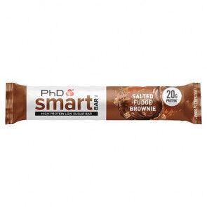 PhD Nutrition Ltd. Smart Bar Brownie con Caramelo Salado PhD 64g