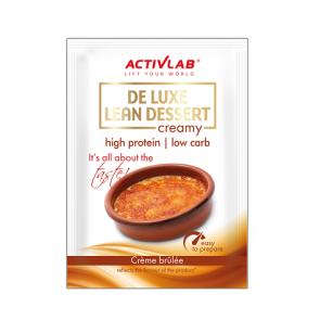 Activlab Crème Protéinée goût Crème Brûlée De Luxe Lean Dessert ActivLab 30 g