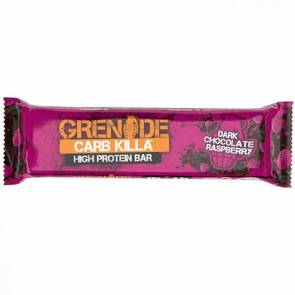 Grenade Barre Protéinée Carb Killa goût Chocolat Noir à la Framboise 60 g