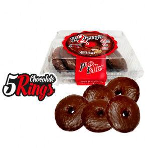 Protella Donuts Protella goût Chocolat Zebra Joe and Gerry's (5 unités) 208 g