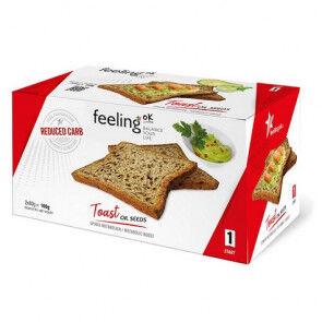 FeelingOk Biscottes aux Graines FeelingOk Start 160 g