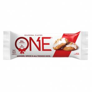 Oh Yeah Nutrition Barre Oh Yeah! ONE goût Biscuits de Noël au Gingembre 60 g