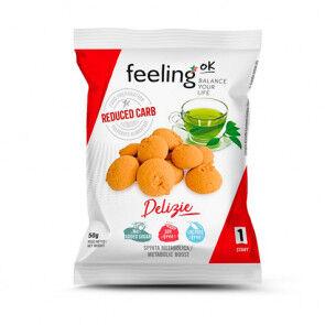 FeelingOk Biscuits FeelingOk Delizia Start Citron-Vanille 50 g