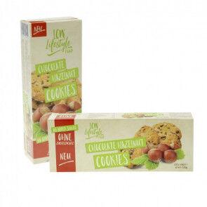 LCW Cookies au chocolat et aux noisettes sans sucre ajouté LCW 135g