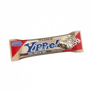 Weider Low Carb Yippie! Triple barre de chocolat Weider 45 g