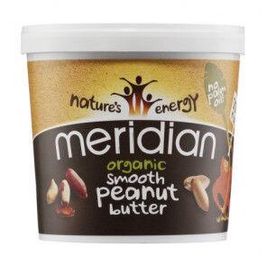 Meridian Foods Beurre de Cacahuète biologique Doux Meridian 1 kg