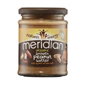 Meridian Foods Beurre d'arachide salé biologique Meridian 280g