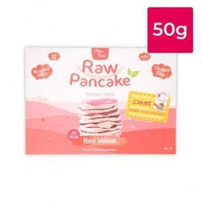 Clean Foods Monodose pour Pancakes Low-Carb Raw goût Red Velvet Clean Foods 50g