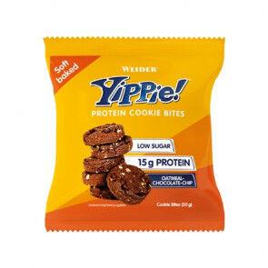 Weider Mini biscuits aux protéines Weider Yippie! arôme Avoine aux Chocolate Chips 50g