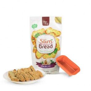 Clean Foods Slim Pain à l'ail 10 x 50g de Clean Foods