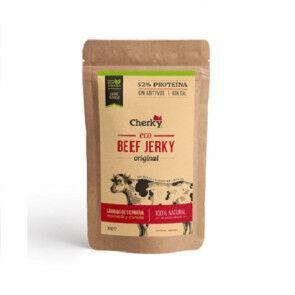 Cherky Foods Beef Jerky Original Viande Salée Biologique Cherky 30g