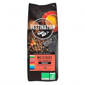 Destination Bio Grains de Café Bio Mexique Chiapas 100% Arabica Destination 250g