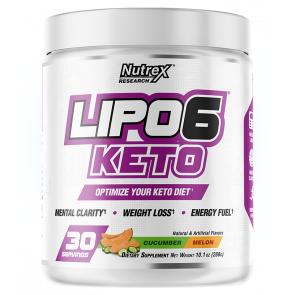 Nutrex Research Lipo 6 Keto Cucumber-Melon pour perdre du poids Nutrex Research 288g