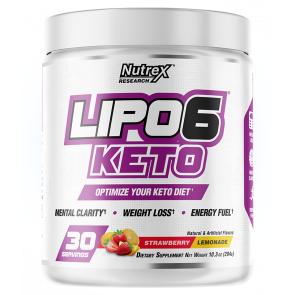 Nutrex Research Lipo 6 Keto pour perdre du poids Saveur Fraise-Limonade Nutrex Research 288g