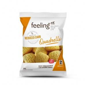 FeelingOk Mini Biscuits FeelingOk Quadrelli Optimize Noisettes 50 g