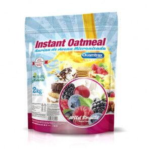 Quamtrax Nutrition Flocons d'avoine aromatisés Fruit de bois Quamtrax 2 kg