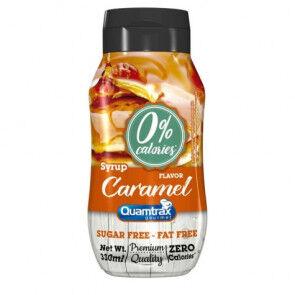 Quamtrax Nutrition Sirop de caramel 0% calories Quamtrax Gourmet 330ml