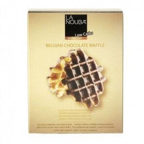 LaNouba Gaufres au chocolat belge low carb LaNouba 180 g