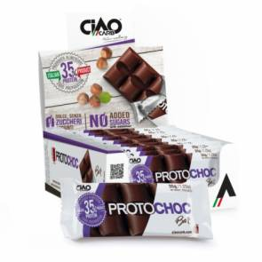CiaoCarb Pack de 15 Tablettes au Chocolat CiaoCarb Protochoc Phase 1 Chocolat