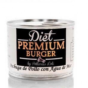 Diet Premium Burger, S.L.U. Blanc de poulet à l'Eau de Mer en Conserve 100 g Diet Premium