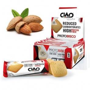 CiaoCarb Pack de 10 Biscuits CiaoCarb Protobisco Phase 1 Amandes