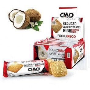 CiaoCarb Pack de 10 Biscuits CiaoCarb Protobisco Phase 1 noix de Coco