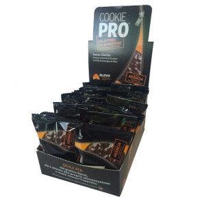 Alevo Pack de 24 Cookie Pro Orange Amère Recouvert de Chocolat Noir Alevo 13,6 g