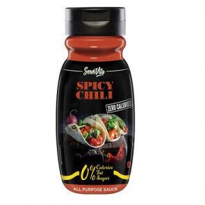 Servivita Salsa Chili Picante 0% Servivita 320 ml